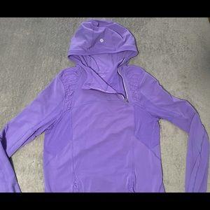 Lululemon Run: Alpine Pullover size 8 very violet